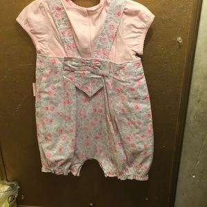 First Impressions One Pieces - NWT sz 24 mths bubble outfit romper w/ top
